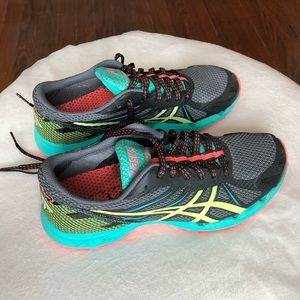 Colorful ASIC  Running Shoes